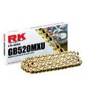 RK 520MXU Gold X-ring Chain