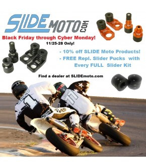 10% off SLIDE Moto Products
