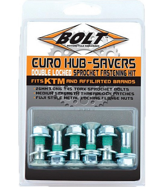 BOLT Hub Savers Sprocket Bolt Kit