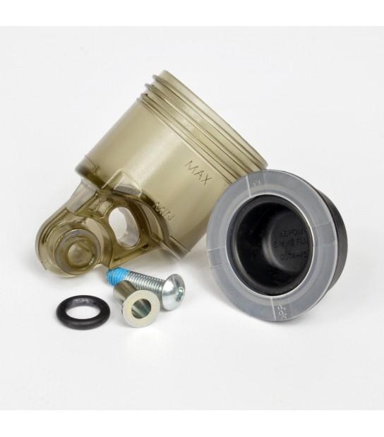 Moto-Master Smoked Reservoir Kit For Master Cylinder