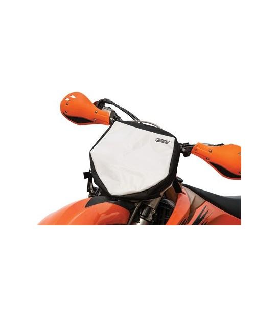 Holeshot Front Number Plate Bag