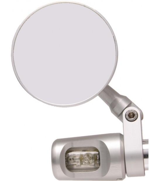 Oberon Round Mirror & Turn Signal Indicator