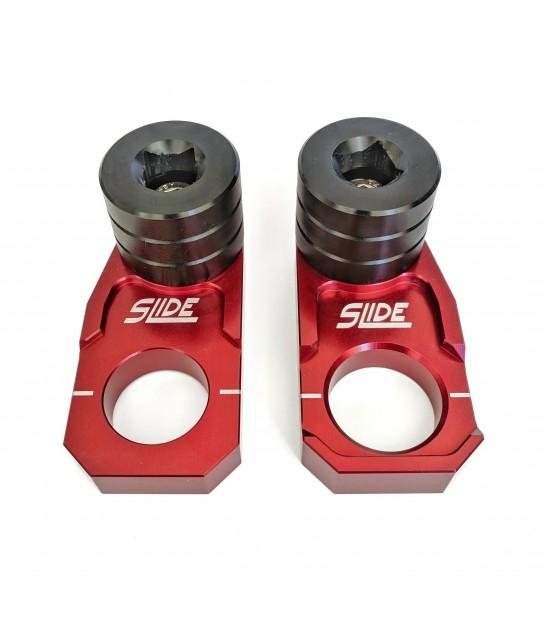 Rear Pro Sliders: Integrated axle block sliders
